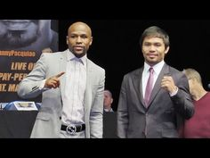 """FLOYD MAYWEATHER: """"I hope the fight (vs. PACQUIAO) meets the hype!"""" #MayPac"""