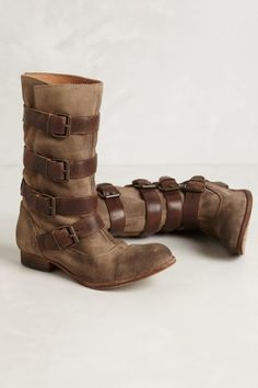 Cayson Buckle Boots Shoes Heels Boots d770f090e5