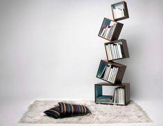 Книжный стеллаж Equilibrium - искусство равновесия от Malagana design