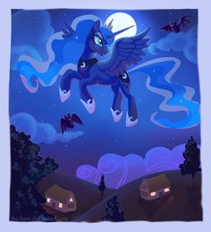 Night Flight by The-Hare.deviantart.com on @DeviantArt