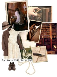 """Nothin' But Dust And Bone In My Old Brown Coat, And A Hat Pulled Low O'er Velvet Eyes..."" by faylane on Polyvore"