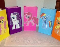 Cute My Little Pony Party Goody Bags