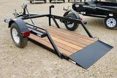 >>Learn more about off road trails. Click the link to find out more The web presence is worth checking out. Welding Trailer, Trailer Diy, Trailer Plans, Trailer Build, Motorcycle Trailer, Bike Trailer, Utility Trailer, Bobber Motorcycle, Atv Trailers