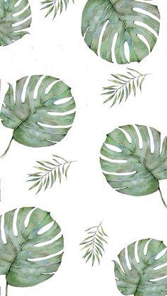 Tumblr palm leaf iphone wallpaper