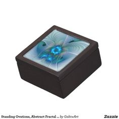 Standing Ovations, Abstract Fractal Art Keepsake Box