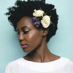 Medium length natural hair....beautiful www.addisonrenee.com