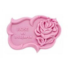 Molde de silicona, Rosa de Bulgaria, perfecto como detalles de boda.