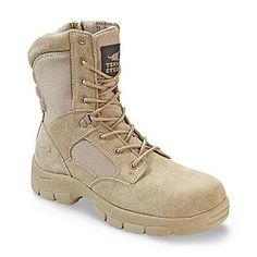 Texas Steer Men's Kamaal 2 Desert Storm Boot - Sand - Shoes - Mens Shoes - Mens Work Shoes & Boots