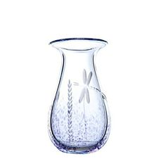 "This small 6"" vase is made in Waterford Ireland by original Waterford Crystal glass blowers. Each vase is hand-blown and hand-etched with original designs of the studio. It comes in its own box and makes a great gift item. It is a true testimony to the skills of the master glass blowers... see more details at https://bestselleroutlets.com/home-kitchen/kitchen-dining/product-review-for-handmade-small-posy-flower-vase-by-the-irish-handmade-glass-company-waterford-hand-blow"