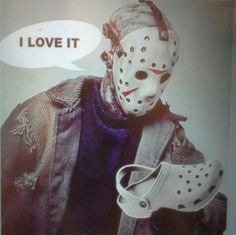 Part of the Jason Voorhees Camp Crystal Lake Summer collection:-)