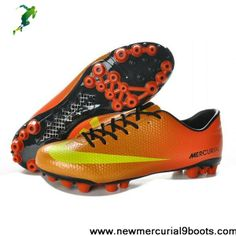 Cheap Discount Nike Mercurial Veloce AG Sunset with Volt Football Shoes Shop