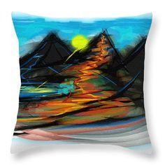 Lava Throw Pillow featuring the digital art Lava by Cuiava Laurentiu Pillow Sale, Lava, Fine Art America, Digital Art, Tapestry, Throw Pillows, Random, Prints, Image