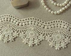 1Yard Vintage style Cotton Crochet Lace Trim 6cm by naturalbalcony, $5.99