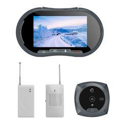 Door Peephole Camera IR  Door Sensors - 1/4 Inch CMOS Door Camera 3 x P.I.R Motion Detectors 3 x Wireless Door Sensor