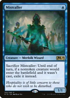 4 x DAKRA MYSTIC NM mtg Journey Into Nyx Blue Merfolk Wizard Unc