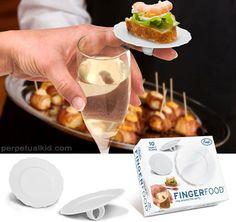 finger food finger plates