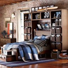 boy bedroom ideas boy bedrooms guys room decor pbteen - Guys Bedroom Decor