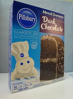 Pillsbury Moist Supreme Dark Chocolate Premium Cake Mix  Pack of 3 1525oz Each Box ** Check this awesome product by going to the link at the image.(This is an Amazon affiliate link and I receive a commission for the sales)