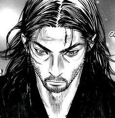 Vagabond Manga, Cool Anime Wallpapers, Musashi, Samurai Art, Aesthetic Anime, Art Sketches, Drawings, Fictional Characters, Face Drawings