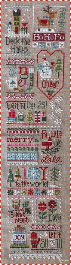 free christmas cross stitch patterns - Google Search