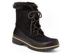 Vegan Shoes & Bags: Manchester Winter Boot by JBU in Black