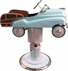 Childs' Pedal Car Barber Chair    Woodie