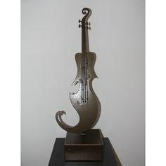 escultura de violín