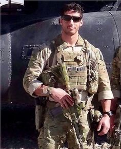 US Army Delta Force Operator Ryan Savard in Afghanistan. Til Valhalla