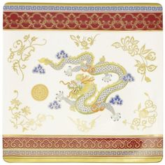 Buffet plate from Dragon collection | Villeroy & Boch