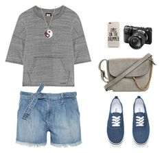 """Untitled #507"" by ichanee on Polyvore featuring Ivy Park, Current/Elliott, Monsoon and Sony"