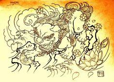 foo fu dog chinese lion buda Imperial guardian