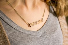 How To: Make Her A Simple + Elegant Hardwood Necklace For Valentine's Day
