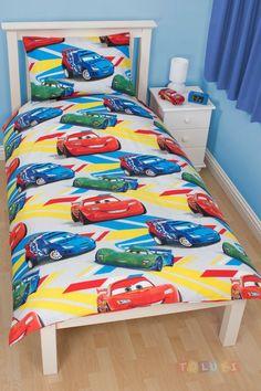 Parure de lit Cars Flash Mc Queen http://www.toluki.com/prod.php?id=530 #Toluki #enfant #chambre