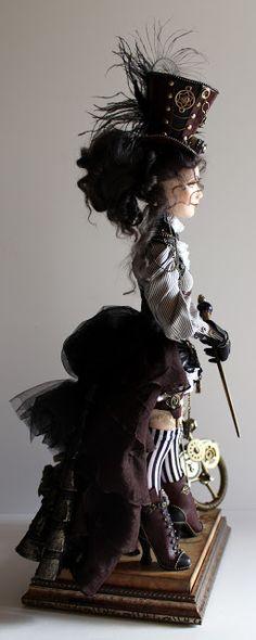 любимые вещи handmade: Леди Стимпанк!