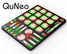 QuNeo 3D multi-touch music controller