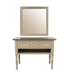 Wilmington Styling Station in Classic Beige
