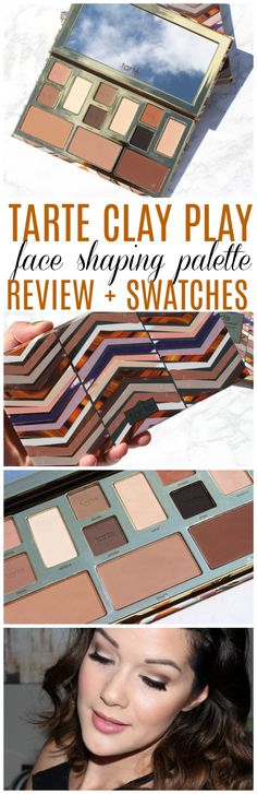 Tarte Clay Play Face Shaping Palette Review and Swatches