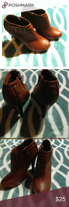 FLASHSALE Michael Antonio ankle boots NWOT NWOT, Brown heels gorgeous buckle & color. THEY ARE AWESOME!!! Michael Antonio Shoes Ankle Boots & Booties