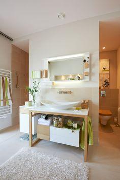 #Viebrockhaus Edition 500 B #WOHNIDEE-Haus - Ein #Bungalow mit frischen Wohnideen - #Waschtisch