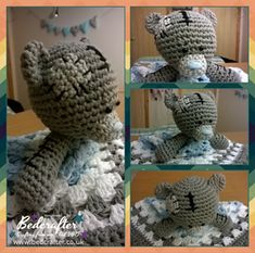 Blanket Part - Started 12th of February Finished 24th of February  This took me a lot longer due to my bad health as I had to take more breaks than usual.  Amigurumi Soft Toy Part - Started 26th of...