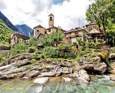 Lavertezzo est une commune suisse du canton du Tessin, située dans le district de Locarno.