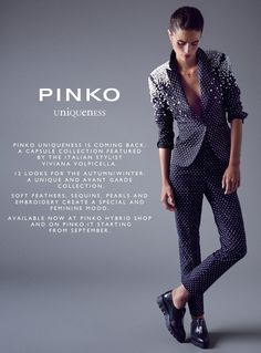 PINKO UNIQUENESS FW '14-'15