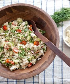 Greek Chicken-Quinoa Salad