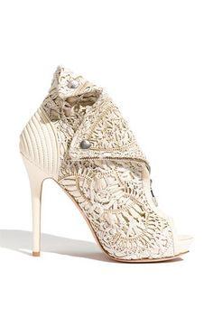 Alexander McQueen bootie - Cherry Fashion Websites