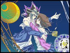 Tags: Anime, Yu-Gi-Oh!, Millennium Puzzle, Yami Yugi, Mazaki Anzu, Kannazuki no Miko (Parody), Studio Gallop