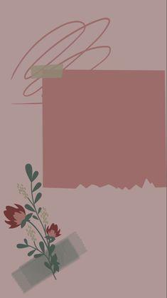 Graphic Wallpaper, Iphone Wallpaper Tumblr Aesthetic, Aesthetic Pastel Wallpaper, Cartoon Wallpaper, Blog Wallpaper, Flower Background Wallpaper, Flower Backgrounds, Paper Background, Birthday Post Instagram