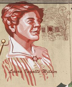 Laura Ingalls Wilder (1867-1957) was born in Lund, WI. In 1894 she moved to Mansfield, MO where in the 1930s and 1940s she published her best selling Little House books chronicling her pioneer life. These books later became the basis for a long-running television series by the same name. -Old Town Cape