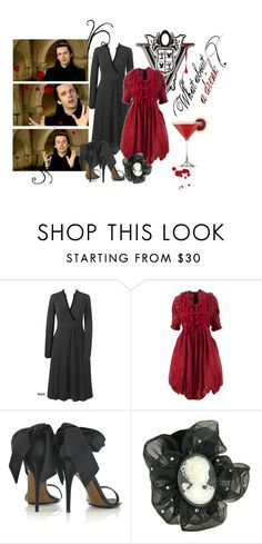 """""""What about a drink, milady?"""" by littlesweeney ❤ liked on Polyvore featuring L.A.M.B., Valentino, Tarina Tarantino, volturi, aro, michael sheen and twilight"""