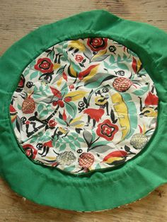 Vintage Novelty Print Fabric Drawstring Jewelry by VintageZipper, $8.00
