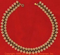 Gherdany Bead Jewelry # GN16170  on AllThingsUkrainian.com